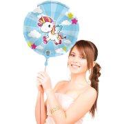 Ballon Gonflé à l'Hélium Licorne Kawaïï