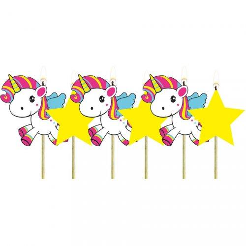 Mini Bougies Licorne Kawaïï