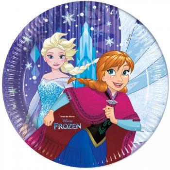 8 Assiettes Reine des Neiges Frozen