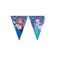 Contient : 1 x Guirlande Fanions Reine des Neiges Frozen