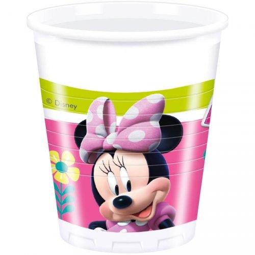 8 Gobelets Minnie Happy