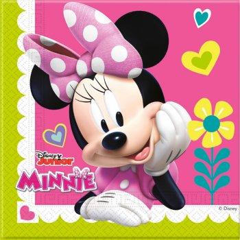 20 Serviettes Minnie Happy et Daisy