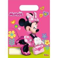 Contient : 1 x 6 Pochettes à cadeaux Minnie Happy