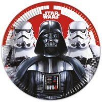 Contient : 1 x 8 Assiettes Star Wars Empire
