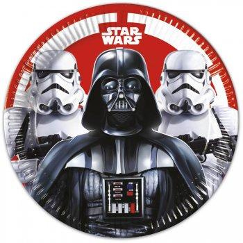 8 Assiettes Star Wars Empire