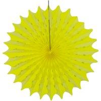 Contient : 1 x 1 Eventail Déco Néon Party Jaune (45 cm)