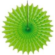 1 Eventail Déco Néon Party Vert (45 cm)