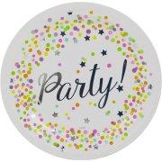 8 Assiettes Confettis Party