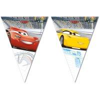Contient : 1 x Guirlande Fanions Cars 3 (2,30 m) - Plastique