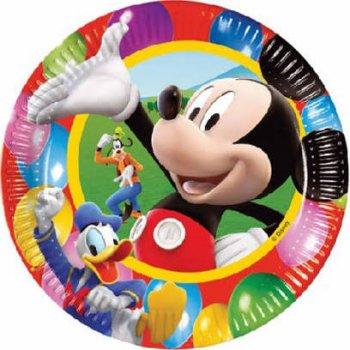 8 Assiettes Mickey