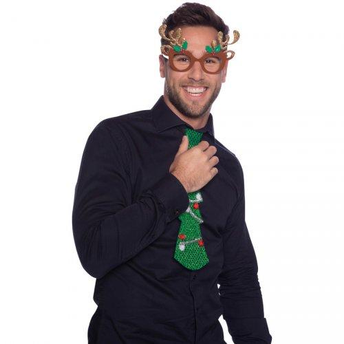 Lunettes de Noël Renne Glitter (enfant/adulte)