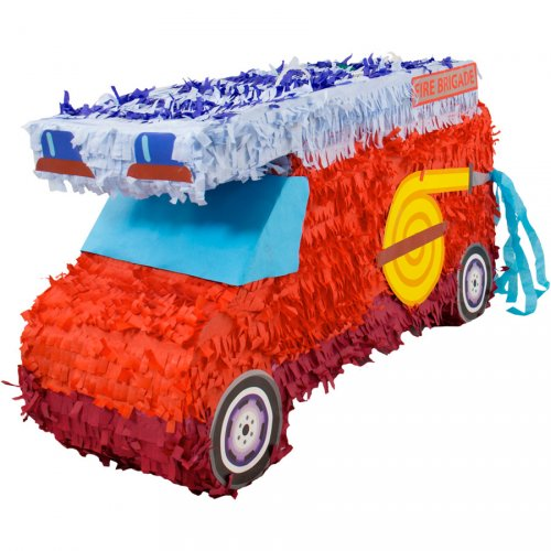 Pinata Camion de Pompiers Maxi (55 cm)