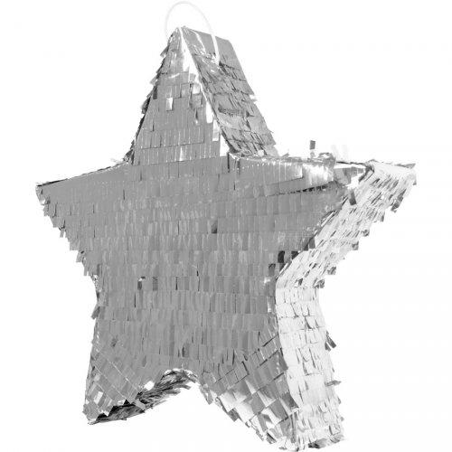 Pinata Etoile Argent (45 cm)