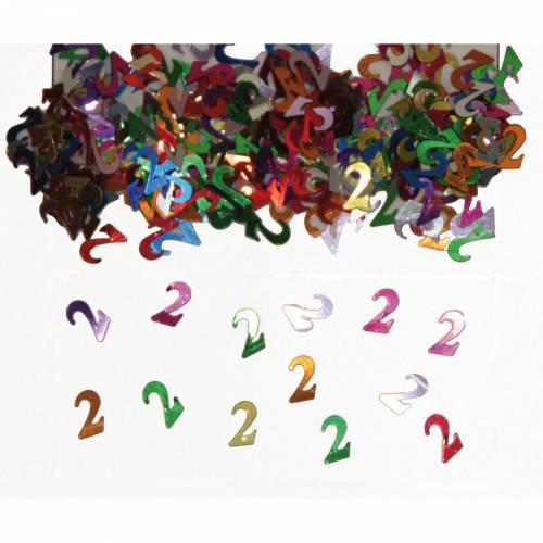 Confettis Multicolores 2 ans - 14 g