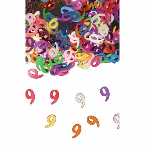 Confettis Multicolores 9 ans - 14 g