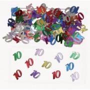 Confettis Multicolores 10 ans - 14 g