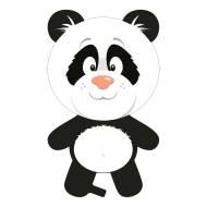 Ballon Géant Panda 50 x 90 cm