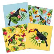 20 Serviettes Toucan Party