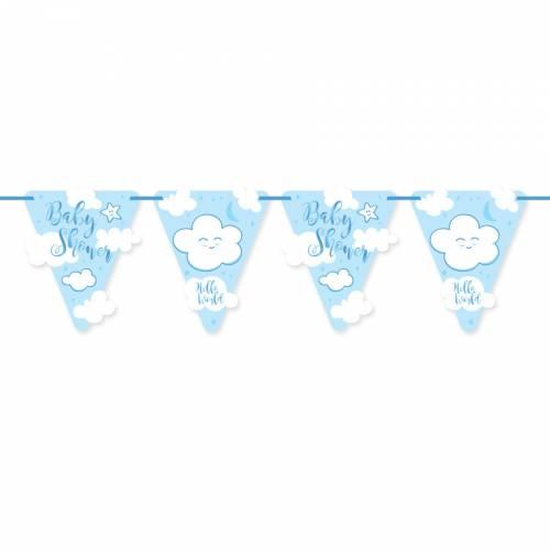 Guirlande Baby Shower Garçon (6m)