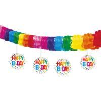 Contient : 1 x Guirlande Pois Rainbow