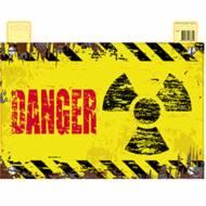 Affiche de Porte Danger Nucléaire