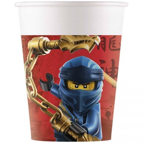 8 Gobelets Ninjago - Compostable