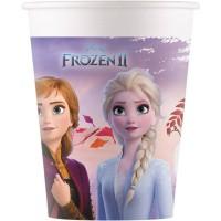 Contient : 1 x 8 Gobelets Frozen 2 - Compostable