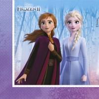 Contient : 1 x 16 Serviettes Frozen 2 Parme