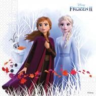 20 Serviettes Frozen 2 - Compostable
