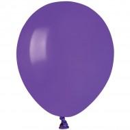50 Ballons Violet Mat Ø13cm