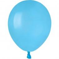 50 Ballons Bleu lagon Mat Ø13cm
