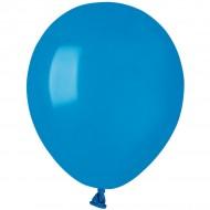50 Ballons Bleu Mat Ø13cm