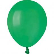50 Ballons Vert Mat Ø13cm