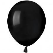 50 Ballons Noir Mat Ø13cm