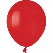 50 Ballons Rouge Mat Ø13cm