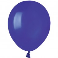 50 Ballons Bleu roi Mat Ø13cm