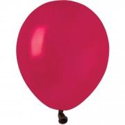 50 Ballons Bordeaux Mat Ø13cm