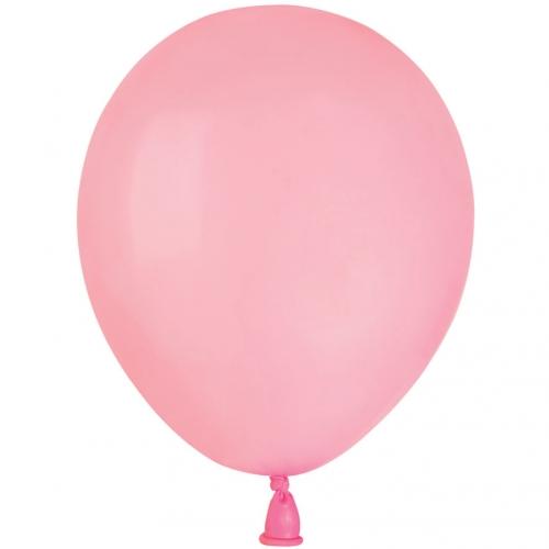 50 Ballons Rose bonbon Mat Ø13cm