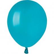 50 Ballons Turquoise Mat Ø13cm