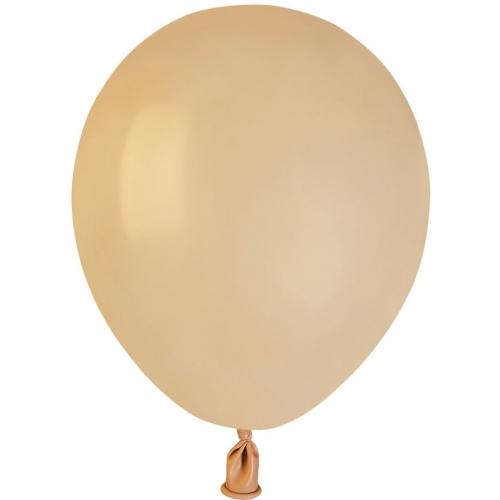 50 Ballons Blush Mat Ø13cm