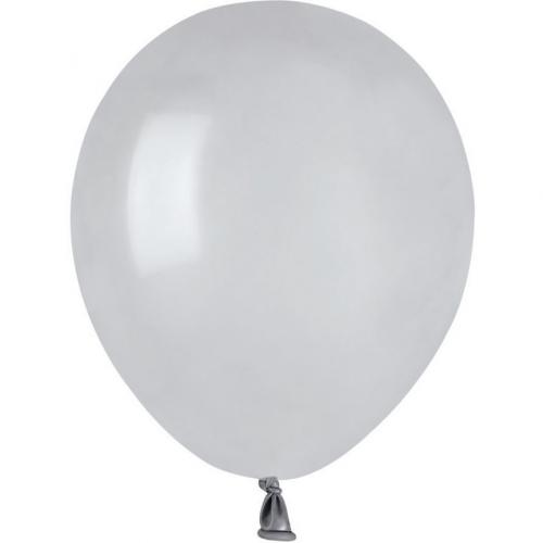 50 Ballons Gris Mat Ø13cm