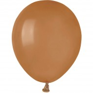 50 Ballons Mocca Mat Ø13cm