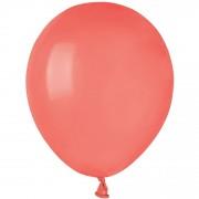 50 Ballons Corail Mat Ø13cm