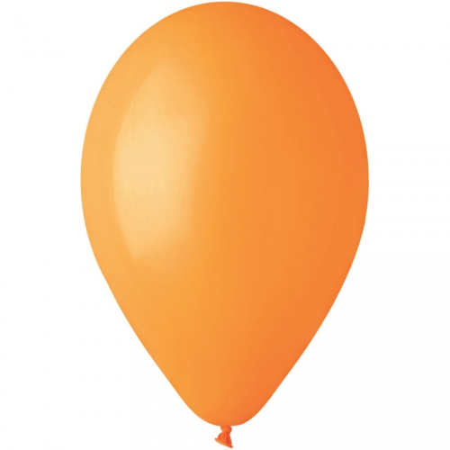 10 Ballons Orange Mat Ø30cm