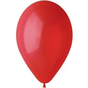 10 Ballons Rouge Mat Ø30cm