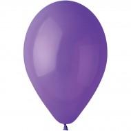 10 Ballons Violet Mat Ø30cm