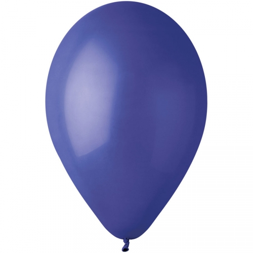 10 Ballons Bleu roi Mat Ø30cm