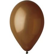 10 Ballons Marron Mat Ø30cm