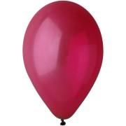 10 Ballons Bordeaux Mat Ø30cm