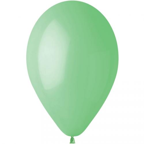 10 Ballons Vert menthe Mat Ø30cm